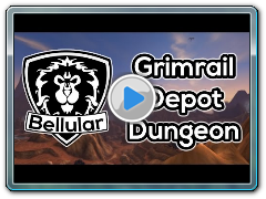 NEW DUNGEON: Grimrail Depot Preview (TRAINS!) - Warlords of Draenor Beta