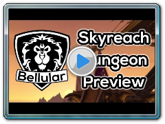 NEW DUNGEON - Skyreach Gameplay Preview - Warlords of Draenor BETA