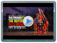 Warlords of Draenor Beta: The Butcher - FATBOSS