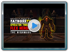 Warlords of Draenor Beta: Operator Thogar - FATBOSS