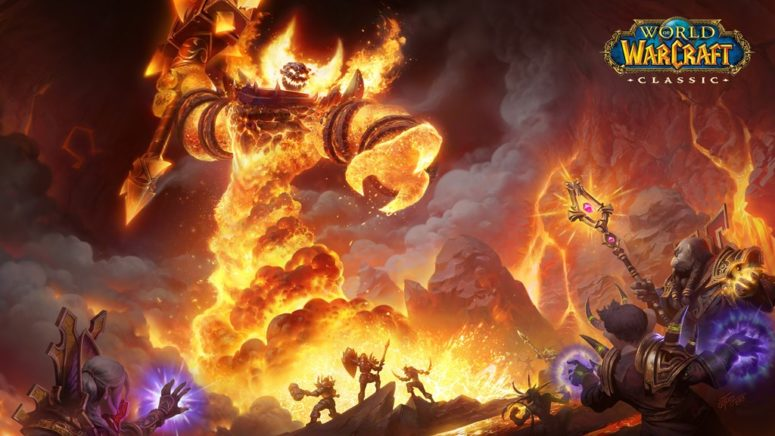 wallpaper_ragn aros_wowclassique